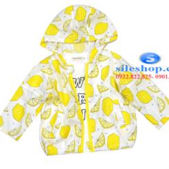 Áo khoác chống nắng cho bé chanh dâu tươi mới-sileshop (1)