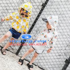 Áo khoác chống nắng cho bé chanh dâu tươi mới-sileshop (12)