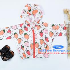 Áo khoác chống nắng cho bé chanh dâu tươi mới-sileshop (3)