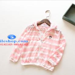 Áo khoác chống nắng sọc cho bé dễ thương-sileshop (11)