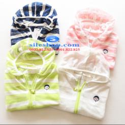 Áo khoác chống nắng sọc cho bé dễ thương-sileshop (14)