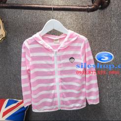 Áo khoác chống nắng sọc cho bé dễ thương-sileshop (18)