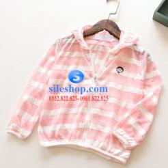 Áo khoác chống nắng sọc cho bé dễ thương-sileshop (4)