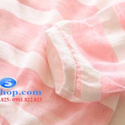 Áo khoác chống nắng sọc cho bé dễ thương-sileshop (9)