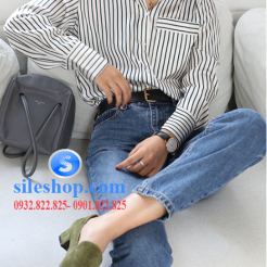 Áo sơ mi sọc phong cách cho nữ-sileshop.com (7)