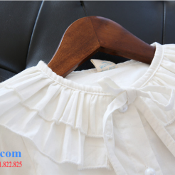 Áo sơ mi trắng cách điệu cho bé dễ thương-sileshop (5)
