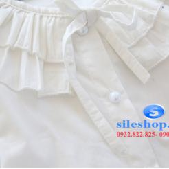 Áo sơ mi trắng cách điệu cho bé dễ thương-sileshop (7)