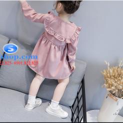 Đầm hồng dễ thương cho bé gái -sileshop (11)
