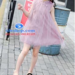 Đầm hồng voan nhiều lớp cho bé gái dễ thương-sileshop (11)