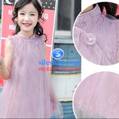 Đầm hồng voan nhiều lớp cho bé gái dễ thương-sileshop (15)