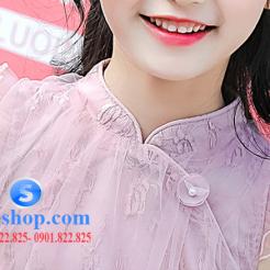 Đầm hồng voan nhiều lớp cho bé gái dễ thương-sileshop (18)