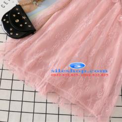 Đầm hồng voan nhiều lớp cho bé gái dễ thương-sileshop (40)