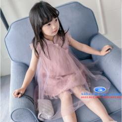 Đầm hồng voan nhiều lớp cho bé gái dễ thương-sileshop (51)