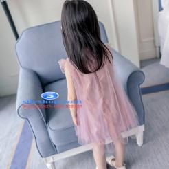 Đầm hồng voan nhiều lớp cho bé gái dễ thương-sileshop (52)