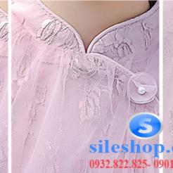 Đầm hồng voan nhiều lớp cho bé gái dễ thương-sileshop (9)
