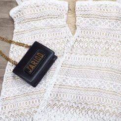 Đầm ren trắng 2 dây (2)