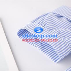 Đầm sọc xanh trắng cho bé gái dễ thương-sileshop (10)