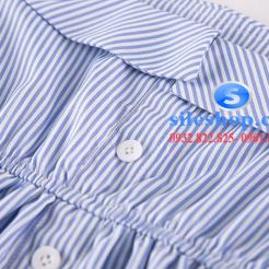 Đầm sọc xanh trắng cho bé gái dễ thương-sileshop (11)