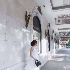 Đầm trắng tầng phối voan (3)