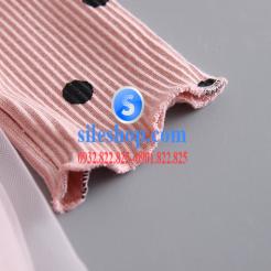Đầm voan hồng xòe chấm bi cho bé dễ thương-sileshop (27)
