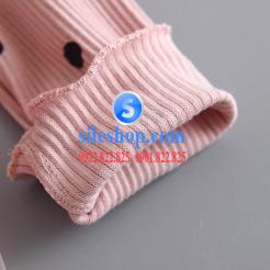 Đầm voan hồng xòe chấm bi cho bé dễ thương-sileshop (28)