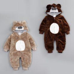 Body nỉ gấu cho bé dễ thương (3)