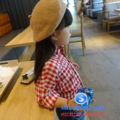 Sơ mi ca rô đỏ trắng cho bé gái dễ thương-sileshop (13)