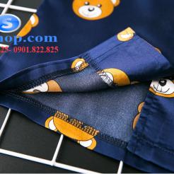 Set đồ ngủ- pijama gấu cho bé gái đáng yêu-sileshop (14)