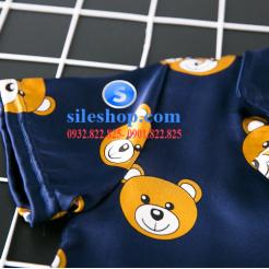Set đồ ngủ- pijama gấu cho bé gái đáng yêu-sileshop (15)