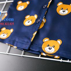 Set đồ ngủ- pijama gấu cho bé gái đáng yêu-sileshop (16)
