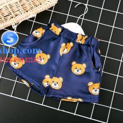 Set đồ ngủ- pijama gấu cho bé gái đáng yêu-sileshop (19)