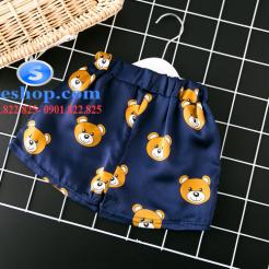 Set đồ ngủ- pijama gấu cho bé gái đáng yêu-sileshop (20)