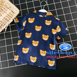 Set đồ ngủ- pijama gấu cho bé gái đáng yêu-sileshop (21)