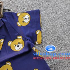 Set đồ ngủ- pijama gấu cho bé gái đáng yêu-sileshop (6)