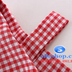 Set bộ áo kiểu ca rô đỏ chân váy cho bé gái đáng yêu-sileshop (17)
