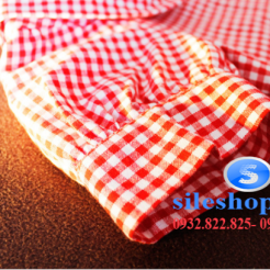 Set bộ áo kiểu ca rô đỏ chân váy cho bé gái đáng yêu-sileshop (25)