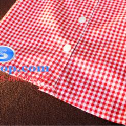 Set bộ áo kiểu ca rô đỏ chân váy cho bé gái đáng yêu-sileshop (26)