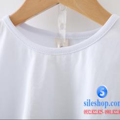 Set bộ áo thun quần sọc ca rô cho bé-sileshop (3)