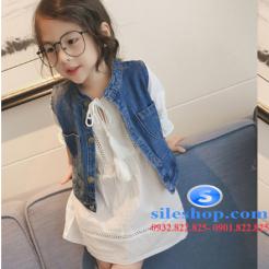 Set jean đầm trắng cho bé gái cực ngầu-sileshop (17)