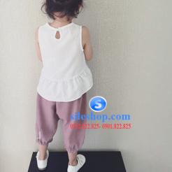 set bộ cho bé gái chất đũi cực mát-sileshop (10)