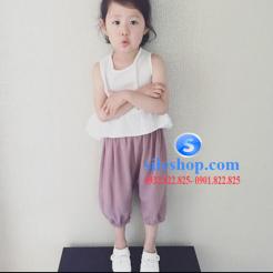 set bộ cho bé gái chất đũi cực mát-sileshop (13)
