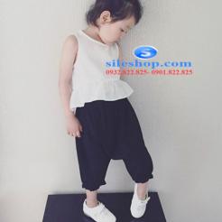 set bộ cho bé gái chất đũi cực mát-sileshop (3)